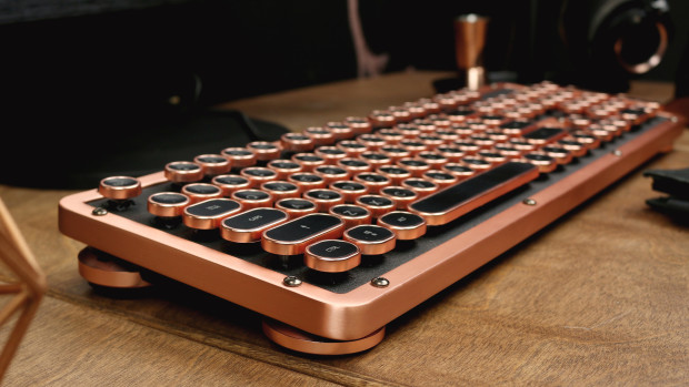 A Retro Classic Bluetooth Keyboard: Expensive Luxury for Windows & Mac